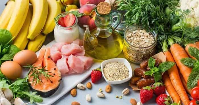 درمان فشار خون بالا با رژیم غذایی سالم