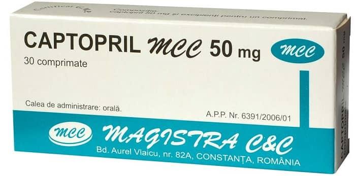 عوارض جانبی مصرف کاپتوپریل