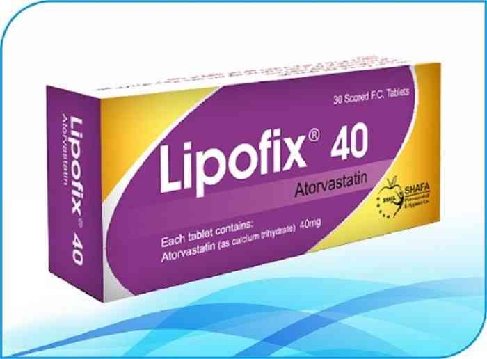 موارد استفاده و دوز مصرفی لیپوفیکس