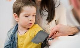 درمان فشار خون بالا در کودکان